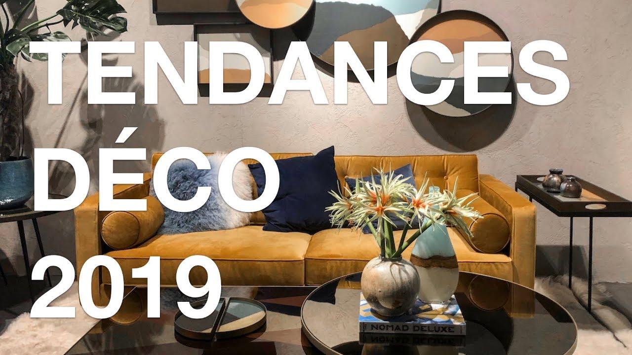 Tendances dco 2019 au salon Maison et Objet janvier 2019