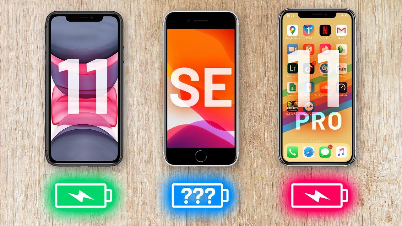 Đánh giá pin iPhone SE 2020: Yếu, ngày sạc 2 lần?