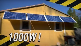Fabriquer sa propre installation solaire !