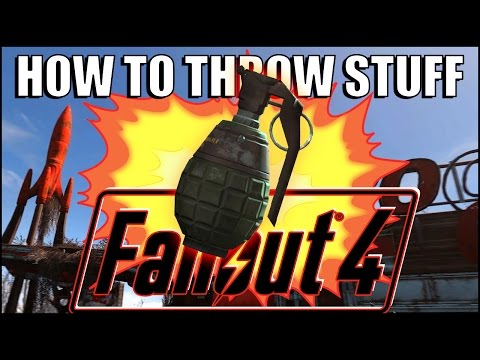 How To Throw Grenades And Place Mines In Fallout 4