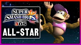 Super Smash Bros. for Nintendo 3DS - All-Star | Diddy Kong thumbnail