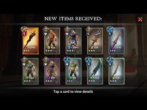 Dungeon Hunter 5 - September Massive Chest Opening