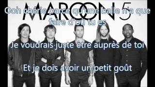 Maroon 5 Sugar traduction francais Lyrics
