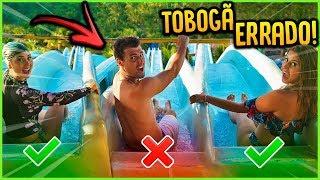 NÃO ESCOLHA O TOBOGÃ ERRADO!! [ REZENDE EVIL ]