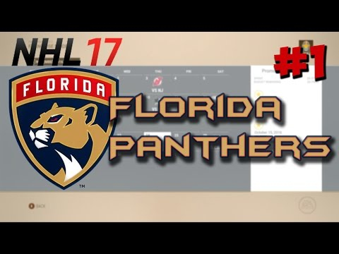 NHL 17: Franchise Mode | Florida Panthers #1 'Relocation??'