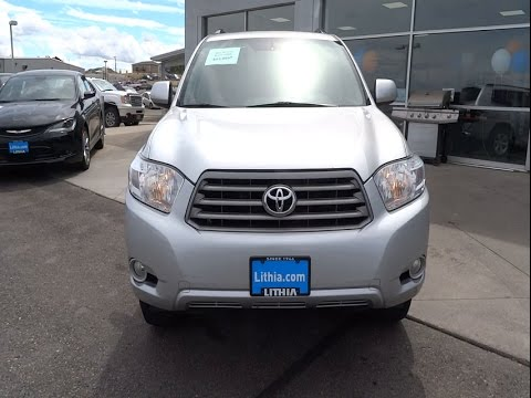 2010 toyota highlander helena butte bozeman great falls missoula mt as013782d youtube. Black Bedroom Furniture Sets. Home Design Ideas