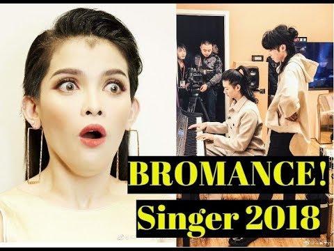 KZ Tandingan JEALOUS on Hua Chenyu and Huo Zun BROMANCE l SINGER 2018 CHINA