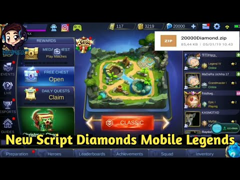 Free Diamonds Mobile Legends