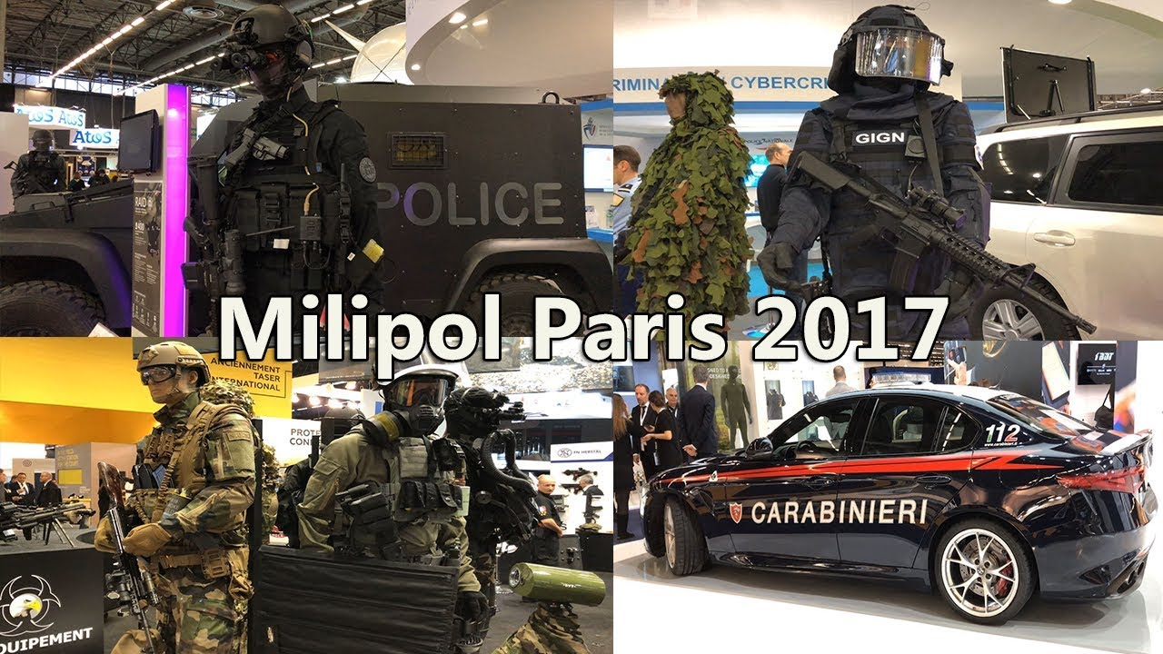 Milipol paris 2017 salon international de la s curit for Salon milipol