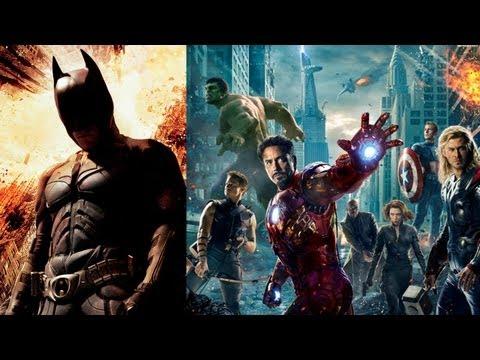 'The Dark Knight Rises' & 'The Avengers' Hit Major Milestones