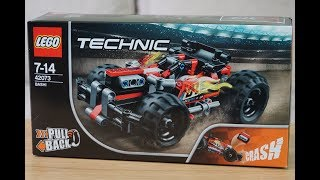 Lego Technic 42073 Pull Back Car Build - Time Lapse