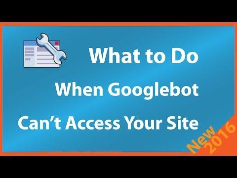 Googlebot Can't Access Your Site Robots.txt File Fetch Error