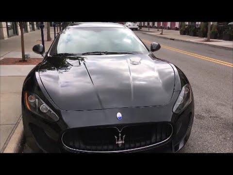 Super Exotics Maserati Granturismo And Aston Martin Vantage Youtube