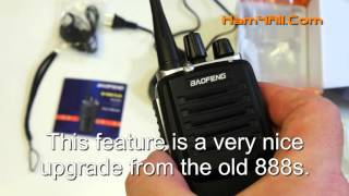 Video New 2016 Baofeng BF-888s PLUS two-way FM radio. download MP3, 3GP, MP4, WEBM, AVI, FLV Juni 2018