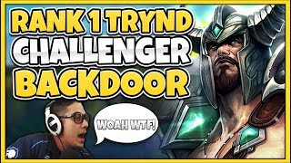 THE GREATEST CHALLENGER BACKDOOR OF SEASON 9 FT. TRICK2G - League of Legends