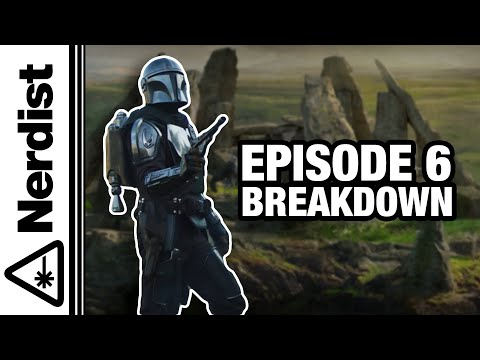 The Mandalorian Season 2 Episode 6 Easter Eggs and Breakdown (Nerdist News w/ Dan Casey)