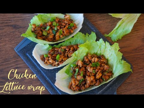 Chicken Lettuce wrap ( P.F changs Style)