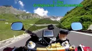Alps Tour 2014 with Yamaha R6R