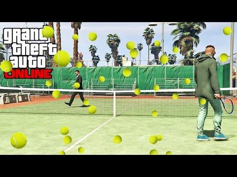 GTA 5 Online - Episode 9 - How To Tennis