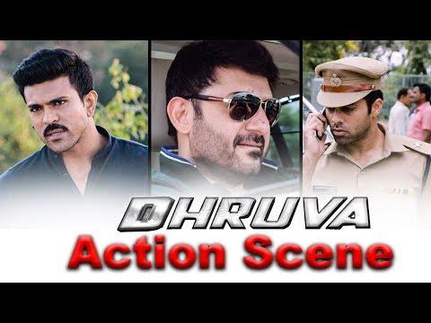 Dhruva Hindi Dubbed Movie   Killing Officer Scene   Ram Charan Tej   Rakul Preet Singh