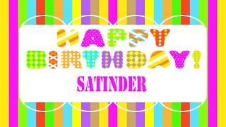Satinder   Wishes & Mensajes - Happy Birthday