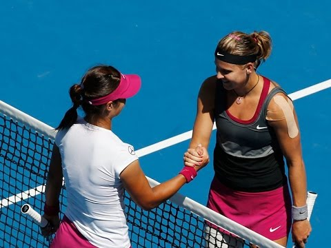 Li Na VS Lucie Safarova Highlight 2014 AO R3