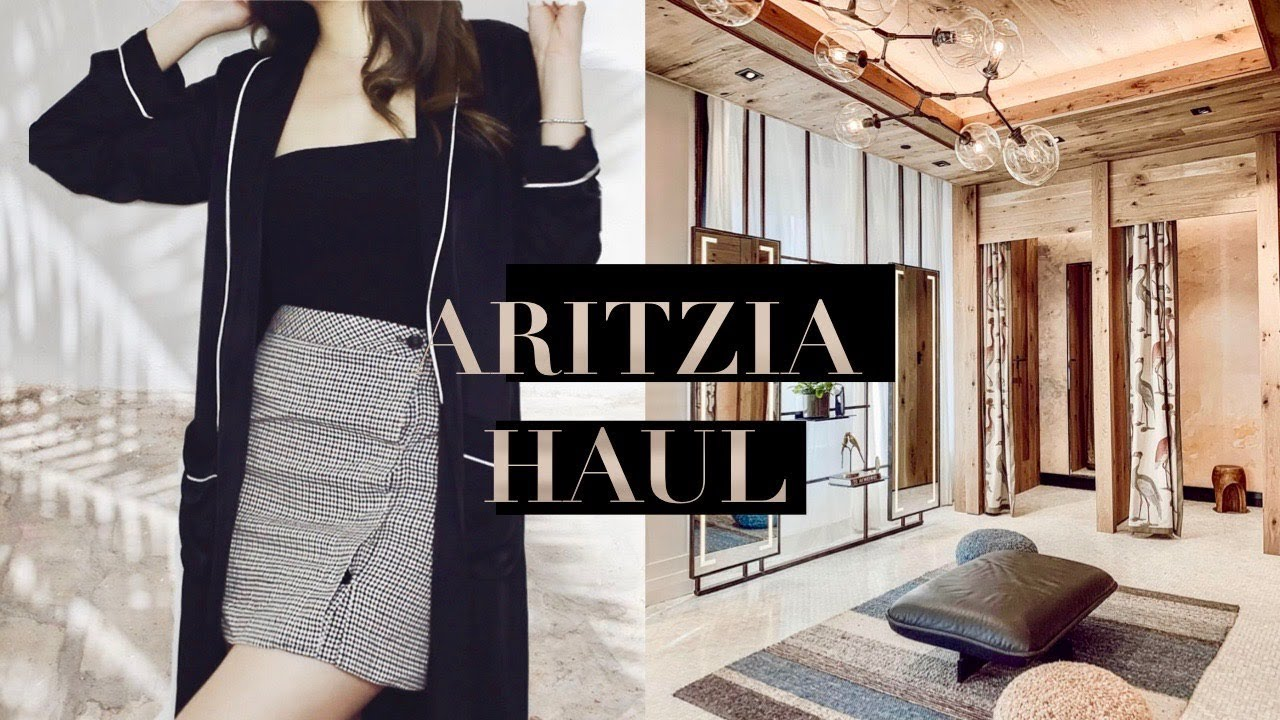 FALL 2018 ARITZIA TRY-ON HAUL ft. LILYSILK, ZARA | Life of Lily