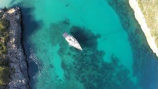 Cala Sa Nau - Mallorca mit DJI Phantom II und GoPro Hero 4 aus der Luft