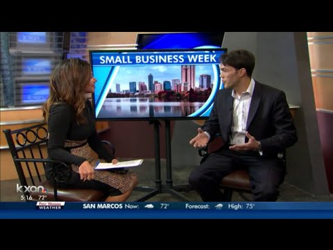 Small Business Activist Matthew Pollard Discussing Small Business Saturday - support small business