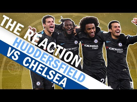 Exclusive Post Match Interviews With Conte, Hazard & Willian | The Reaction