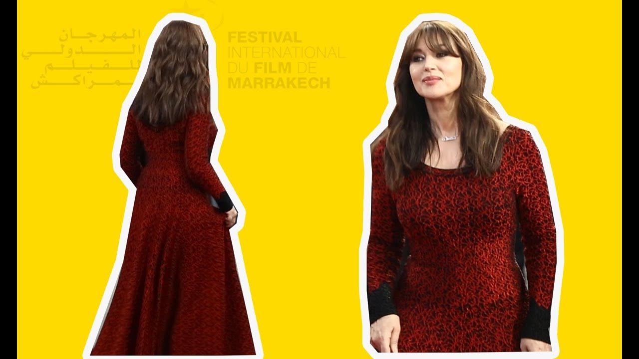 بأناقتها المعتادة.. مونيكا بيلوتشي تخطف الأنظار في اختتام مهرجان السينما بمراكش