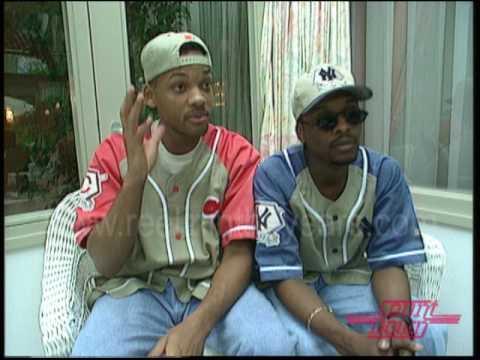 DJ Jazzy Jeff & The Fresh Prince (Will Smith)- Interview on Countdown 1993