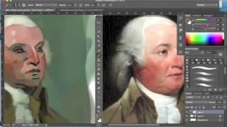 John Adams Speedpainting