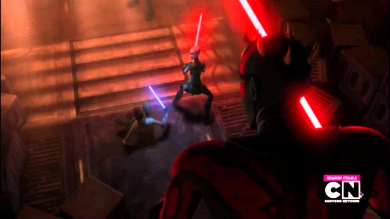 Star wars clone wars darth maul vs darth sidious darth maul amp savage