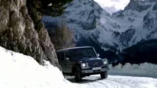 G-Class Wagon vs. Winter -- Mercedes-Benz
