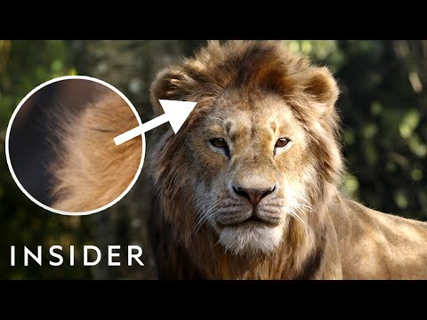 How 'The Lion King' Remake Was Animated | Movies Insider