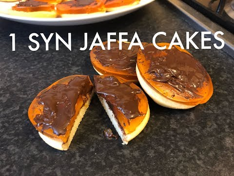 SLIMMING WORLD RECIPES | 1 SYN JAFFA CAKES