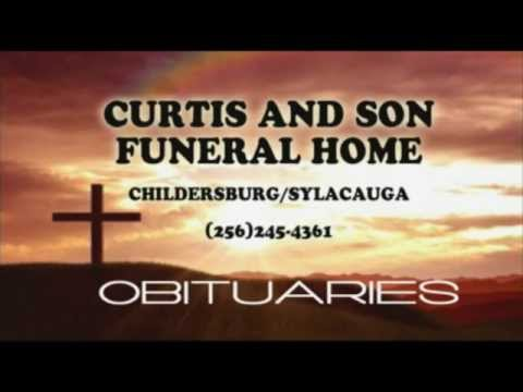 Obituaries For Nov. 20th Brought To You By Curtis & Son Funeral Home