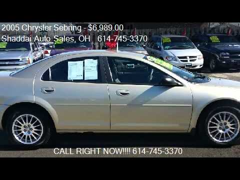 2005 Chrysler Sebring Touring Sedan for sale in Whitehall, O