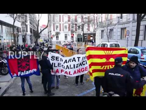 Spain: Ex-Catalan Pres. Mas testifies at Supreme Court in Madrid