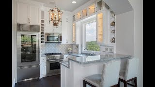видео Дизайн интерьера кухни 12 кв м: 6 фото