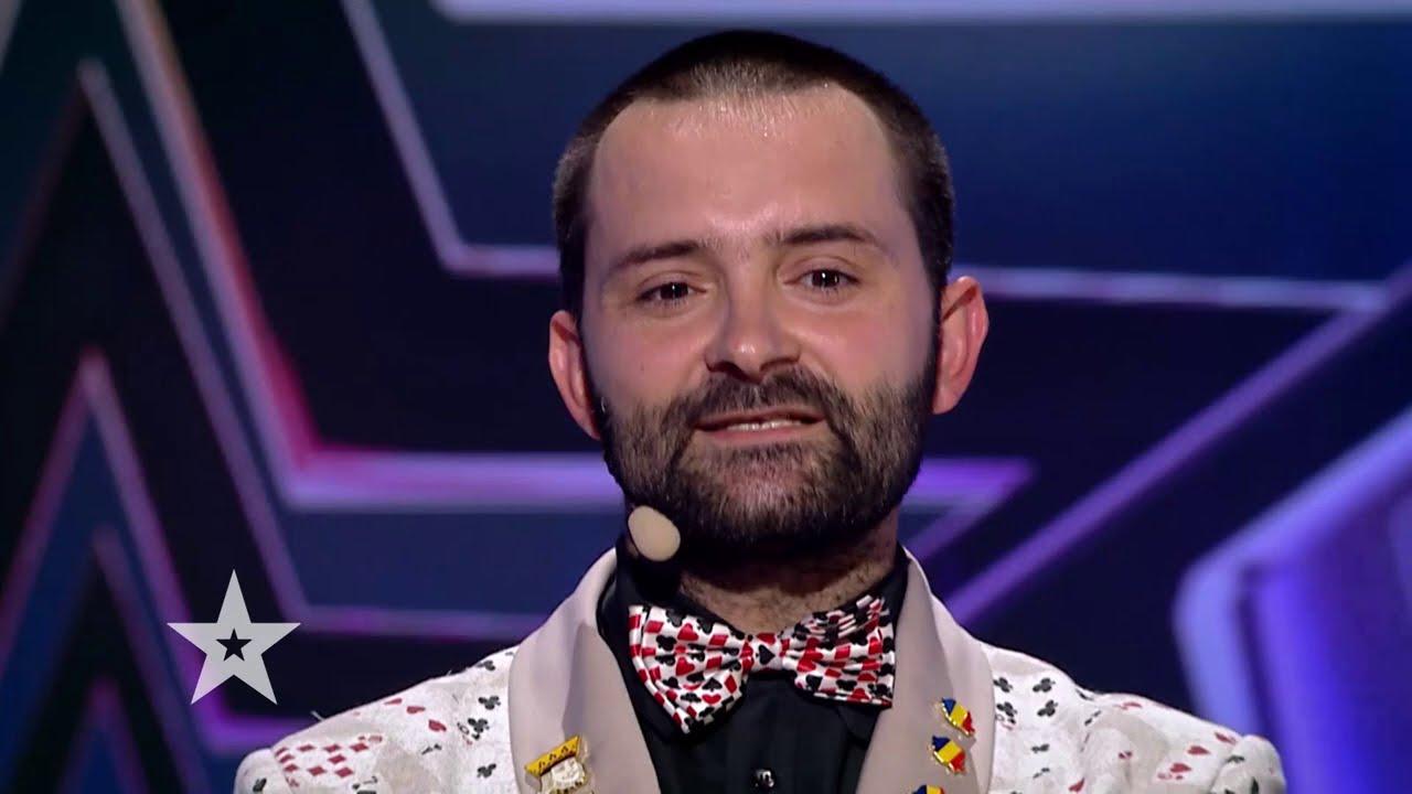Românii au talent 2021: Magitot a oferit un moment spectaculos de umor îmbinat cu magie