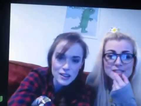 Rose and Rosie's YouNow Broadcast