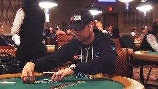 Heads up in the WSOP $1,500 Shootout