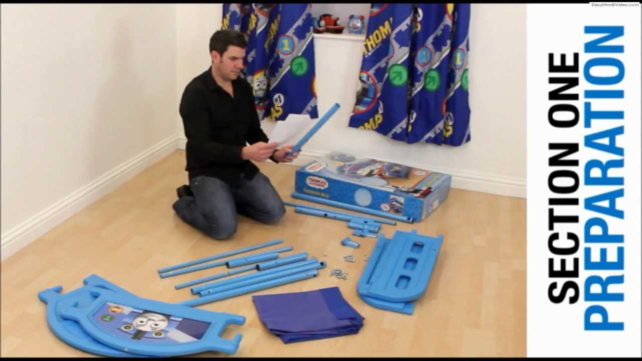 Character World Toddler Bed Assembley Instructions Video Youtube