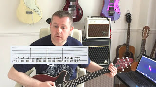 Queen - Keep Yourself Alive - Guitar Tutorial with guitar tab