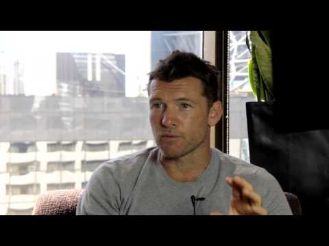 Sam Worthington talks Paper Planes, Cake and the future of Avatar
