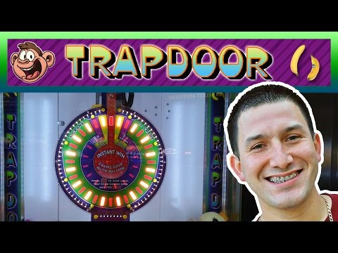 TRAP DOOR Instant Wins! - Arcade Prize Game