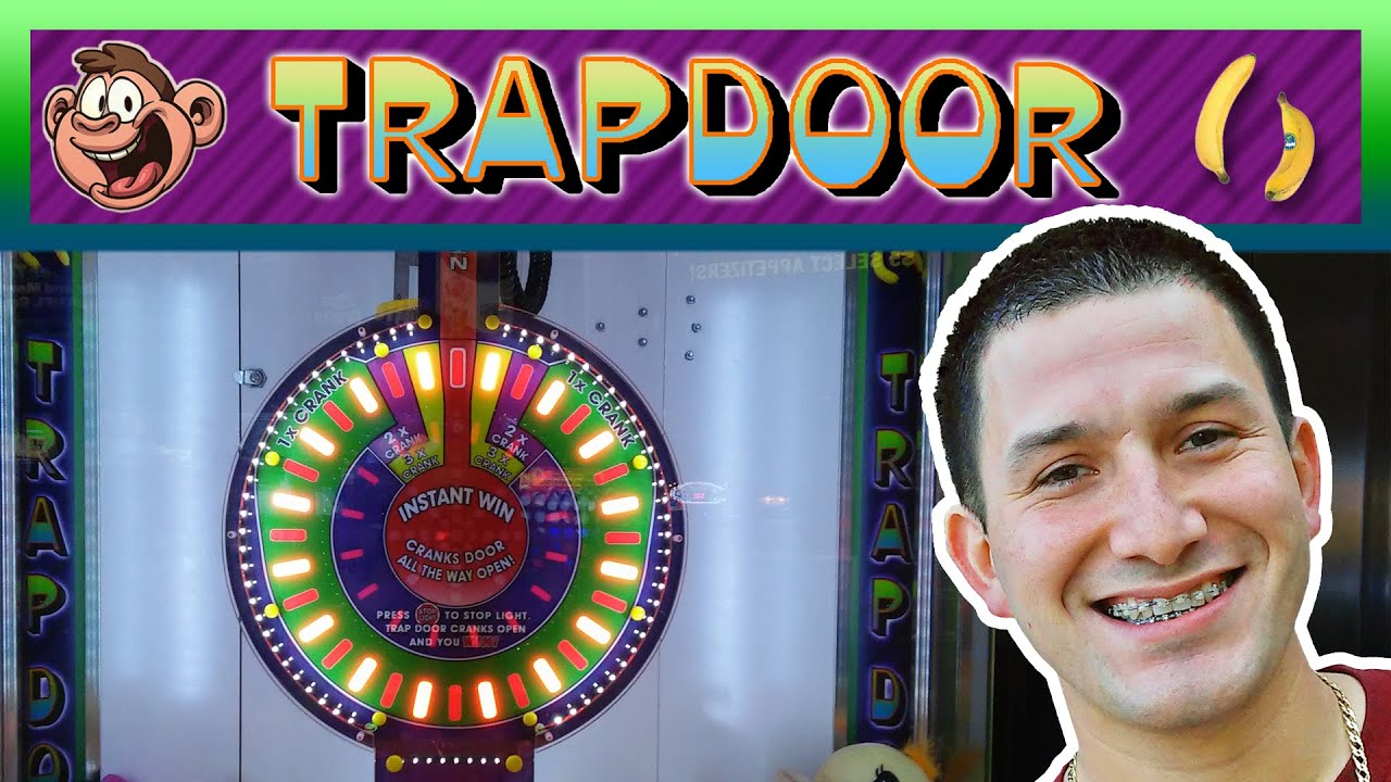 TRAP DOOR Instant Wins! – Arcade Prize Game