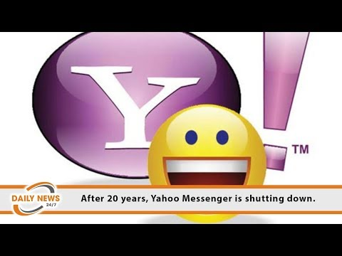 After 20 Years, Yahoo Messenger Is Shutting Down.